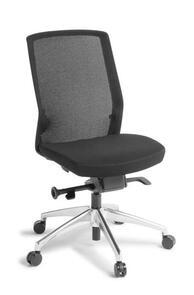 Eden Track White Frame Chair