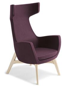 Eden Trento Natural Ash Timber Base Chair