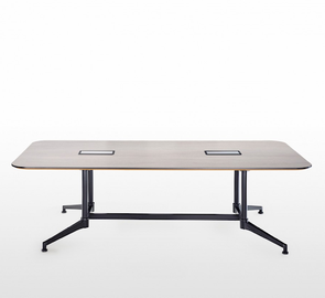 UR Black Frame Meeting Table