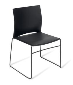 Eden Web Black Frame Chair