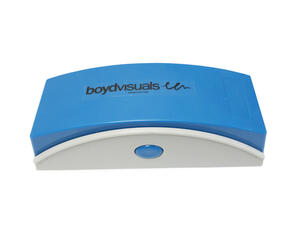 Boyd Visuals Magnetic Whiteboard Eraser with 4 Felt Refills