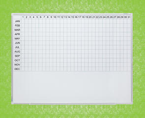 Boyd Visuals Porcelain Year Planner Whiteboard
