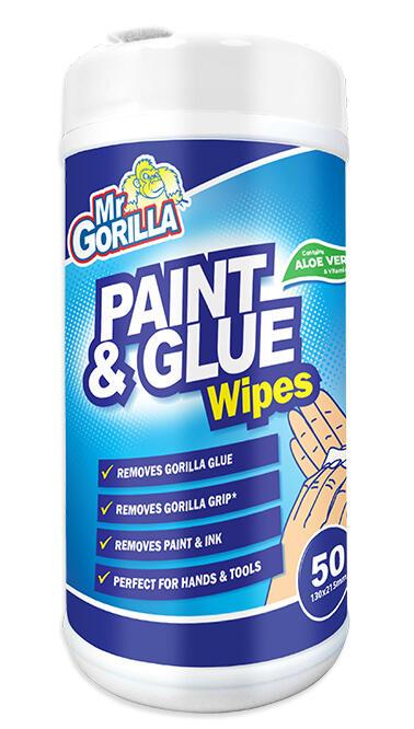 Mr Gorilla Paint & Glue Wipes