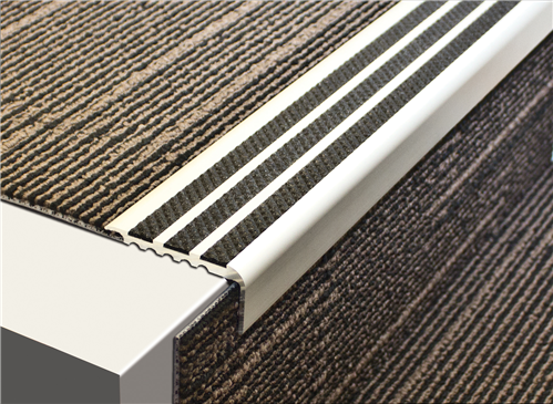 Tredsafe Stairnosing Carpeted AA346  Stairs (sold per metre)