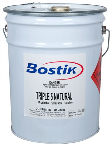Bostik Triple 5 BSR Laminating Natural Adhesive 20 Litre