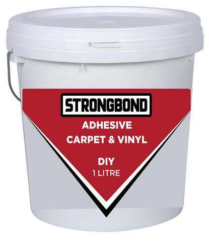 Strongbond DIY Carpet & Vinyl Adhesive 1 Litre