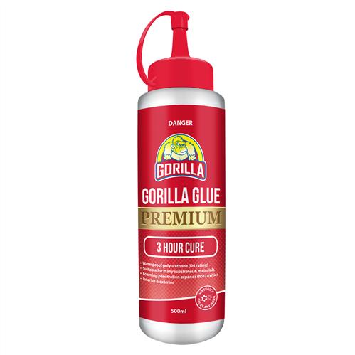 Holdfast Gorilla Glue Premium Wood Adhesive 500 ml