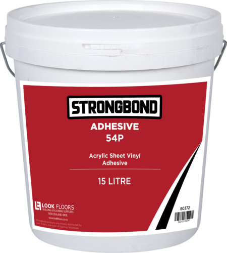 Strongbond 54P Acrylic Sheet Vinyl Adhesive 15 Litre