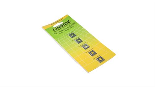 Linbide Corner Scraper Blades - 5 per card