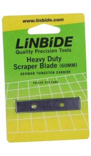 Linbide 60mm Scraper Replacement Blades