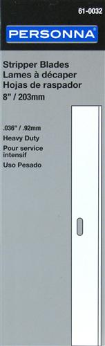 Personna 61-0032 8-inch/200mm Stripper Blades (10 Pack)
