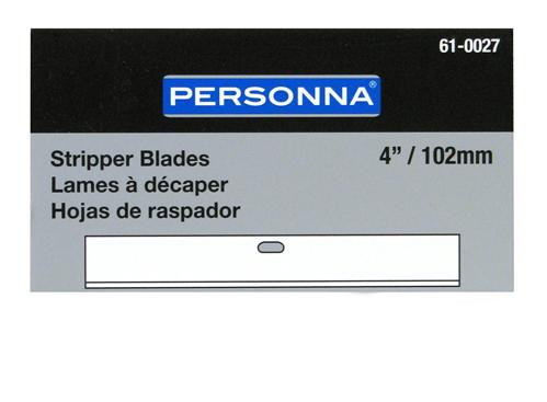 Personna 61-0027 4-inch Stripper Blades (10 Pack)