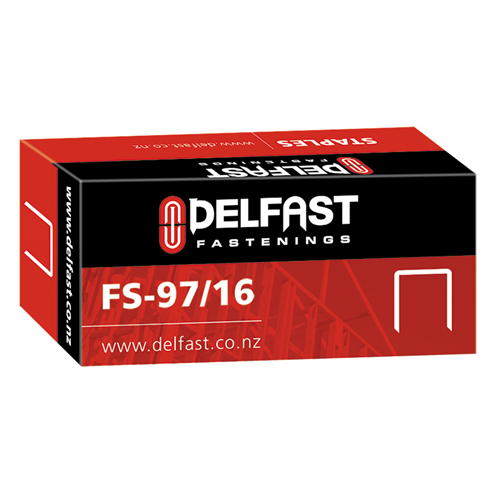 Ramset Delfast Galvanised Staples 97 Series 16 mm - 5000