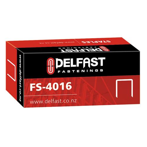 Delfast Galvanised Staples 40 Series 16 mm - 5000