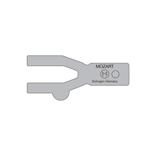 10-C82 Mozart Seam Weld Rod Trimmer Guide 0.5 mm