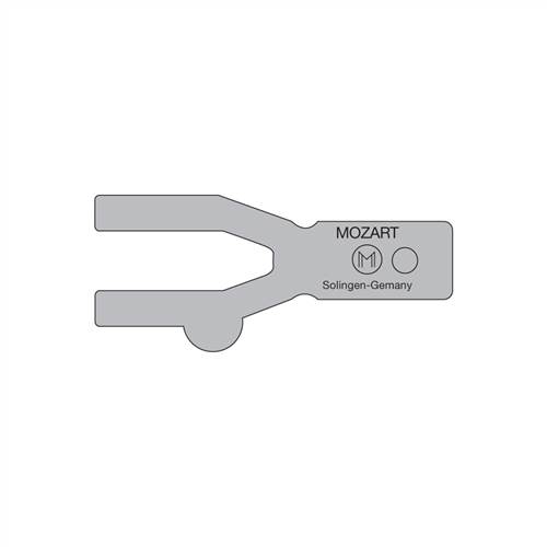 10-C83 Mozart Seam Weld Rod Trimmer Guide 0.7 mm