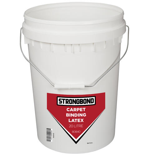 Strongbond Carpet Binding Latex 20 litre