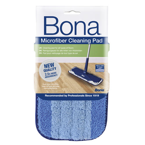 Bona Microfiber Blue Cleaning Pad