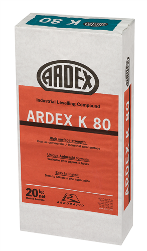 Ardex K80 Industrial Levelling Compound 20 kg