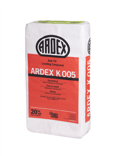 Ardex K005 Bulk Fill Levelling Compound 20 Kg