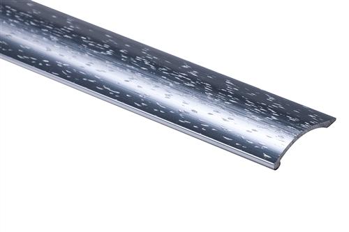 Strongbond Silver Hammered Coverstrip 1651.LL Aluminium Floor Trim 2440 mm