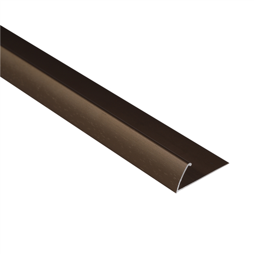 Bronze Hammered 9113 L20 Pinless Naplock Floor Trim 2 44m