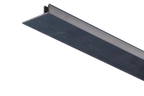 Roberts Edge Cap Base Bar  7108 Pinless (Snap-In-Insert) Aluminium Floor Trim 2.44m