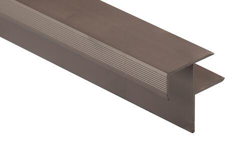 Roberts Senior 50.E13 Stair Nosing Aluminium Floor Trim 3.3m