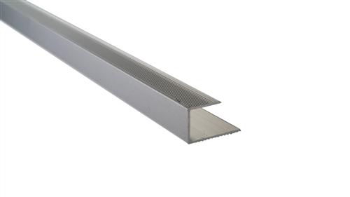 Roberts Silver Senior End Aluminium 50.E20S  Floor Trim 3.30m
