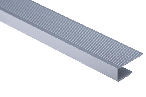 Roberts Mid 50.E18 End Aluminium Floor Trim 3.3m