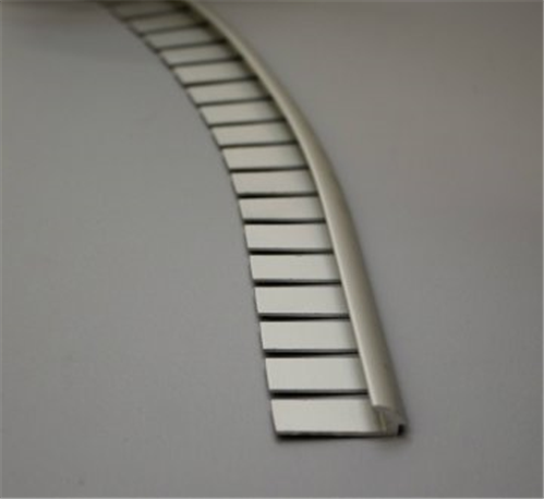 Tredsafe Carpet to Vinyl DT034 3mm Transition Contour Natural Satin per bar