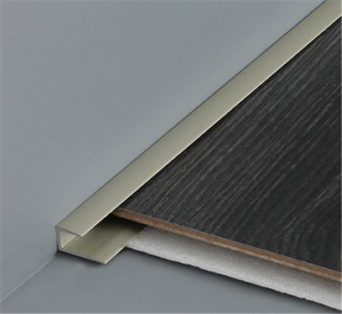 Bronze Wood Edge Cap Dt050 Floor Finishing Trim 2500 Mm