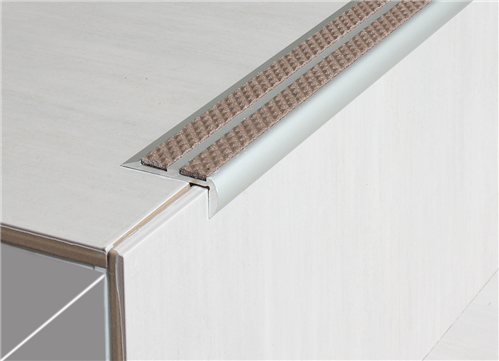 Tredsafe AA252 Double Ceramic Tile with Sloped edge - no Insert per metre