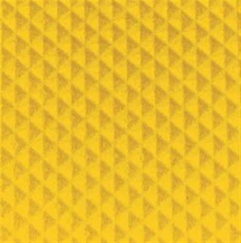 Tredsafe DiamondTred Signal Yellow Insert Various Sizes (sold per metre)
