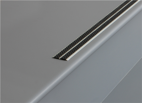 Tredsafe Stairnosing Uncovered AA232  Stairs (sold per metre)
