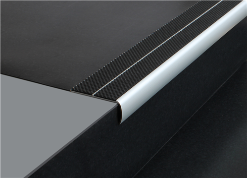 Tredsafe Stairnosing Vinyl Stairs AA202 Maximum Safety (sold per metre)