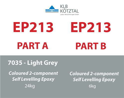 KLB EP 213 Light Grey RAL 7035  30 kg kit