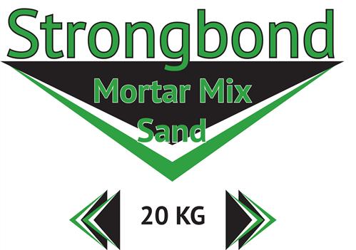 Strongbond Mortar Mix Sand 20 kg bag