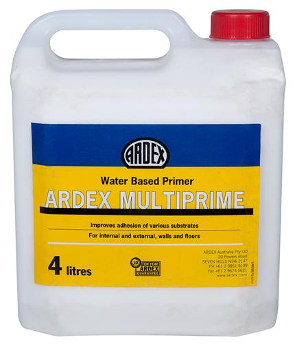 Ardex Multiprime - Water Based Primer 4kg