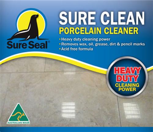 Sure Seal Sure Clean Porcelain Cleaner 1 Litre