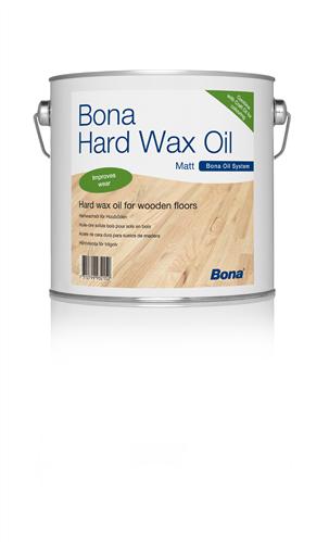 Bona Hard Wax Oil Matt 2.5 Litre