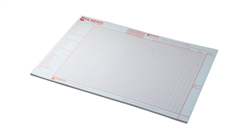 Roberts 10.999 Flooring Plan Pad for Tools and Trims