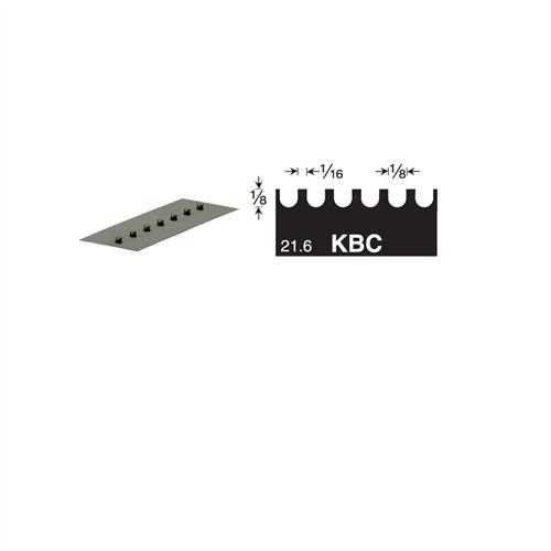 U5 Versablade U Notch 680-KBC Trowel Blade