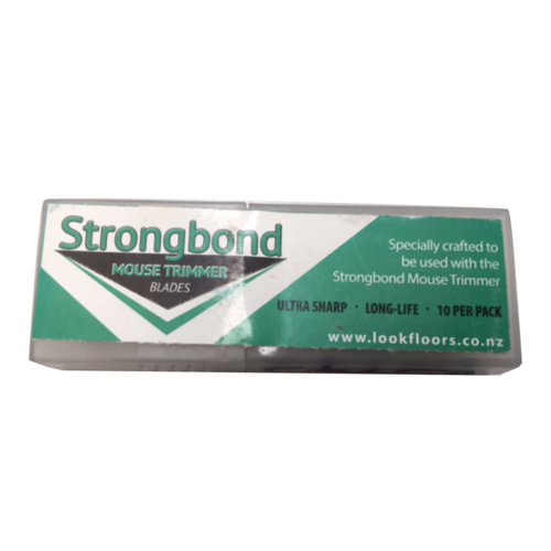 Strongbond Mouse Trimmer Blades - Pkt of 10
