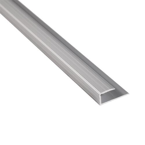Strongbond Edge Section 8-9mm Aluminium Floor Trim 3m