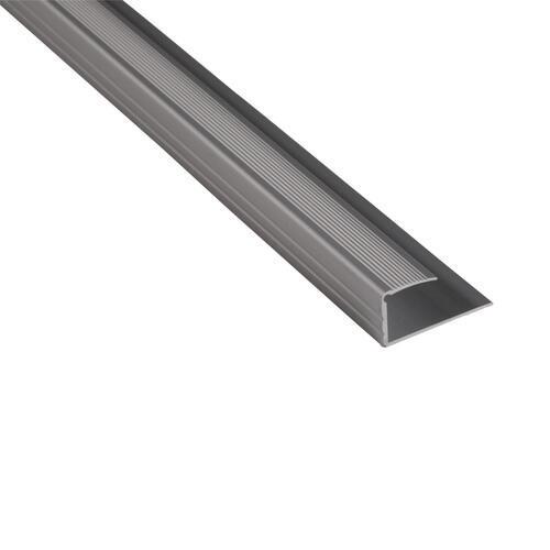 Strongbond Edge Section 14-15mm Aluminium Floor Trim 3m