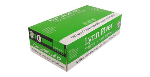 Lynn River Latex Disposable Gloves