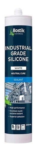 Bostik Silicone Industrial Grade Sealant - White 300gram