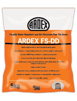 Ardex FS DD Grout Charred Ash 5 kg