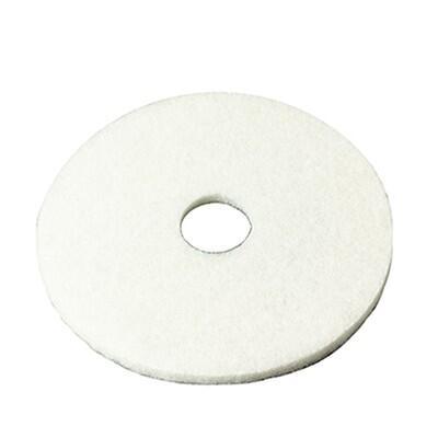 White Polishing Pad to fit Polivac PV25